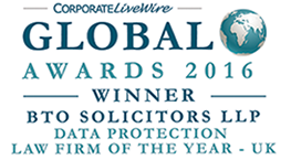 Paul Motion, winner of the Corporate Livewire - Global Awards 2015 in the category of Data Protection UK